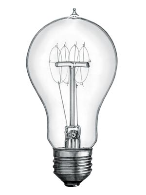Who invented the Light Bulb? Inventions and Inventors for kids***:Who invented the Light Bulb? The name of the person credited with inventing  the first practical incandescent light bulb is Thomas Alva Edison (1847 -  1931).,Lighting